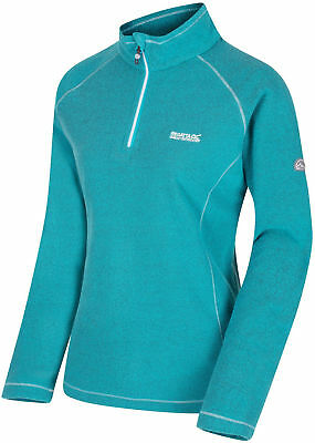 Regatta Kenger Half Zip Womens Fleece - Green Kaufe Jetzt