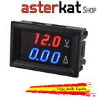 Voltimetro Amperimetro 100v 10A con Display LCD Digital Rojo y Azul tester dual