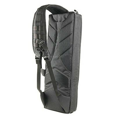 Condor 164-002 Tactical Transporter Hunting Rifle Case w/Sling and Handle Black