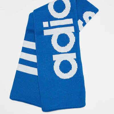 3 stripes adidas Originals Scarf in Bluebird Blue football scarf trefoil