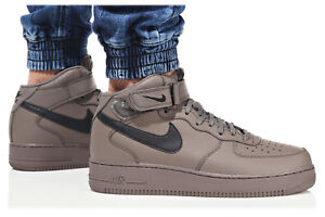 nike air force 1 mid homme marron 43
