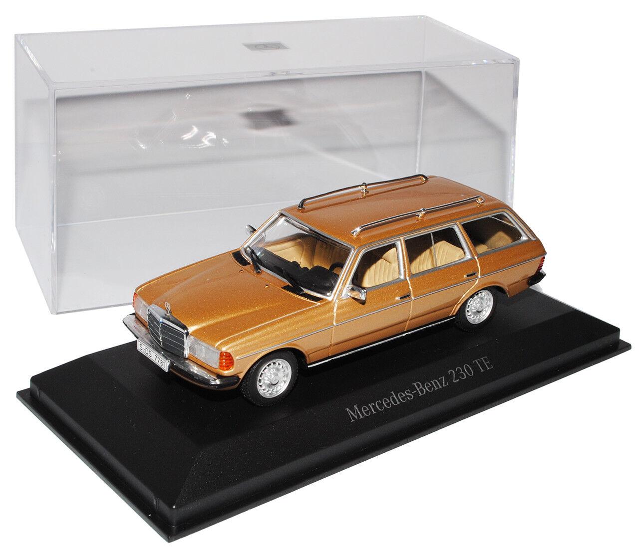 Mercedes-Benz w123 230te Classe-E Combi T-Modèle Beige 1975-1986 1 43 43 43 Minicham... e197ff