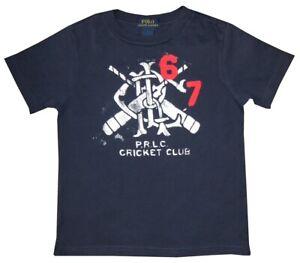 RALPH-LAUREN-POLO-PRLC-CRICKET-CLUB-T-SHIRT-67-PATCH-BLUE-WHITE-RED-KIDS-BOYS-4
