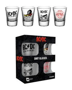 AC/DC Mix Shot Glasses