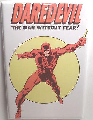 "Daredevil Vintage Card Art MAGNET 2/"" x 3/"" Refrigerator Locker Avengers"