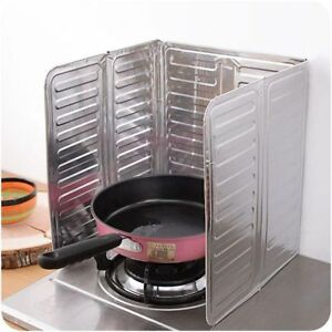 Kitchen-Oil-Splash-Guard-Anti-Splatter-Cooking-Frying-Screen-Cover-Aluminum-Foil