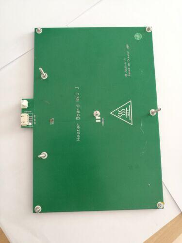 3D printer Flashforge Creator//Creator Pro Heatbed Hot Plate 245*154MM+iron plate