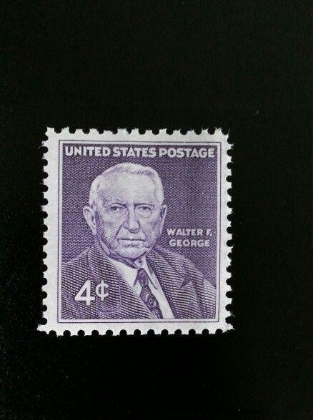 1960 4c Walter F. George, United States Senator, Georgi