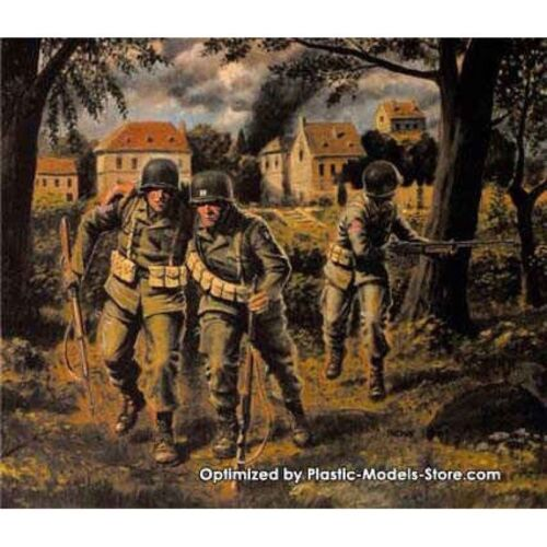 US PARATROOPERS 1944 AIRBORNE WWII 1//35 MASTER BOX 3511 DE