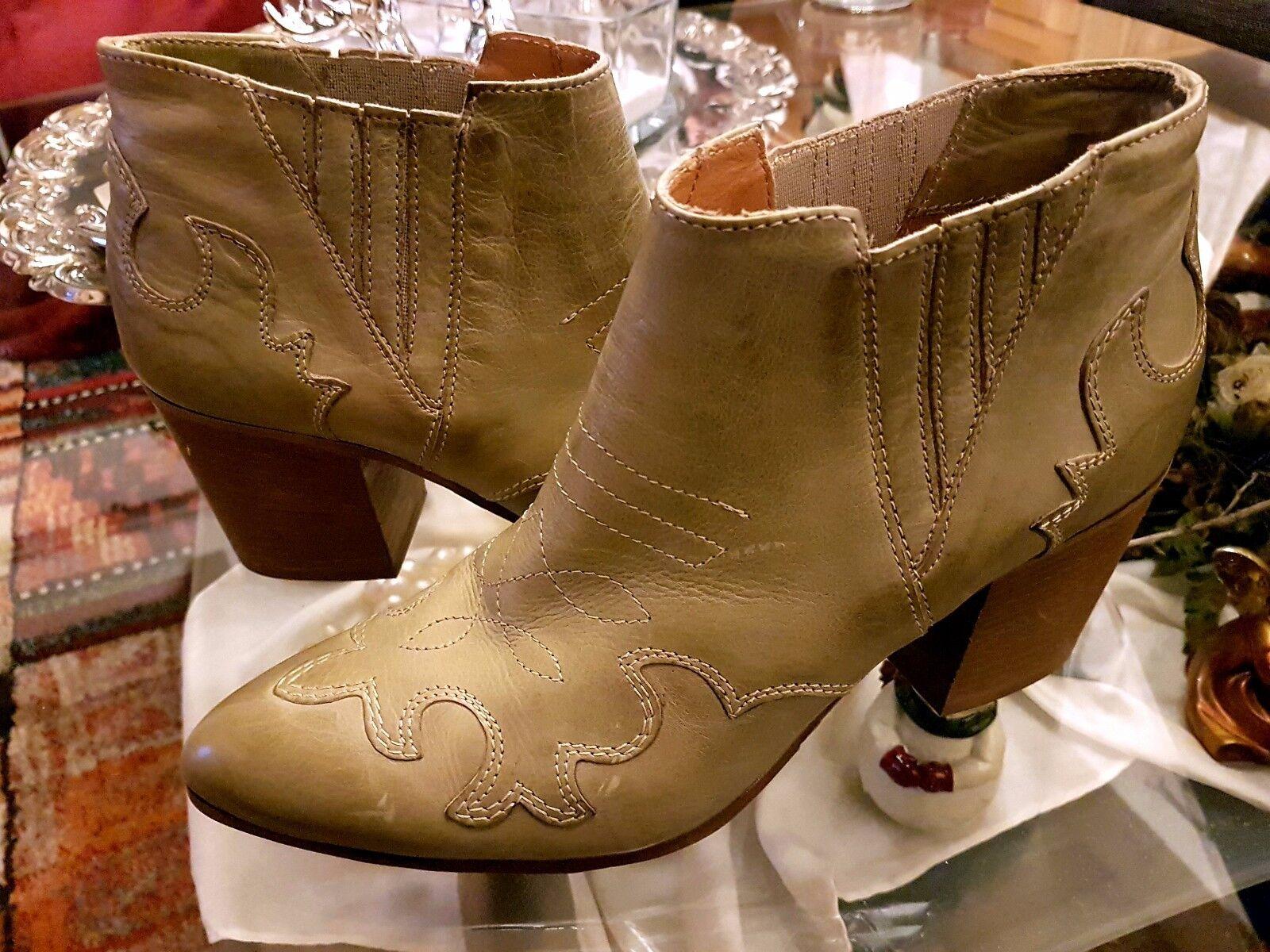 Nuevo-geniales empodium cowboy motorista botas botines talla talla talla 40  sorteos de estadio