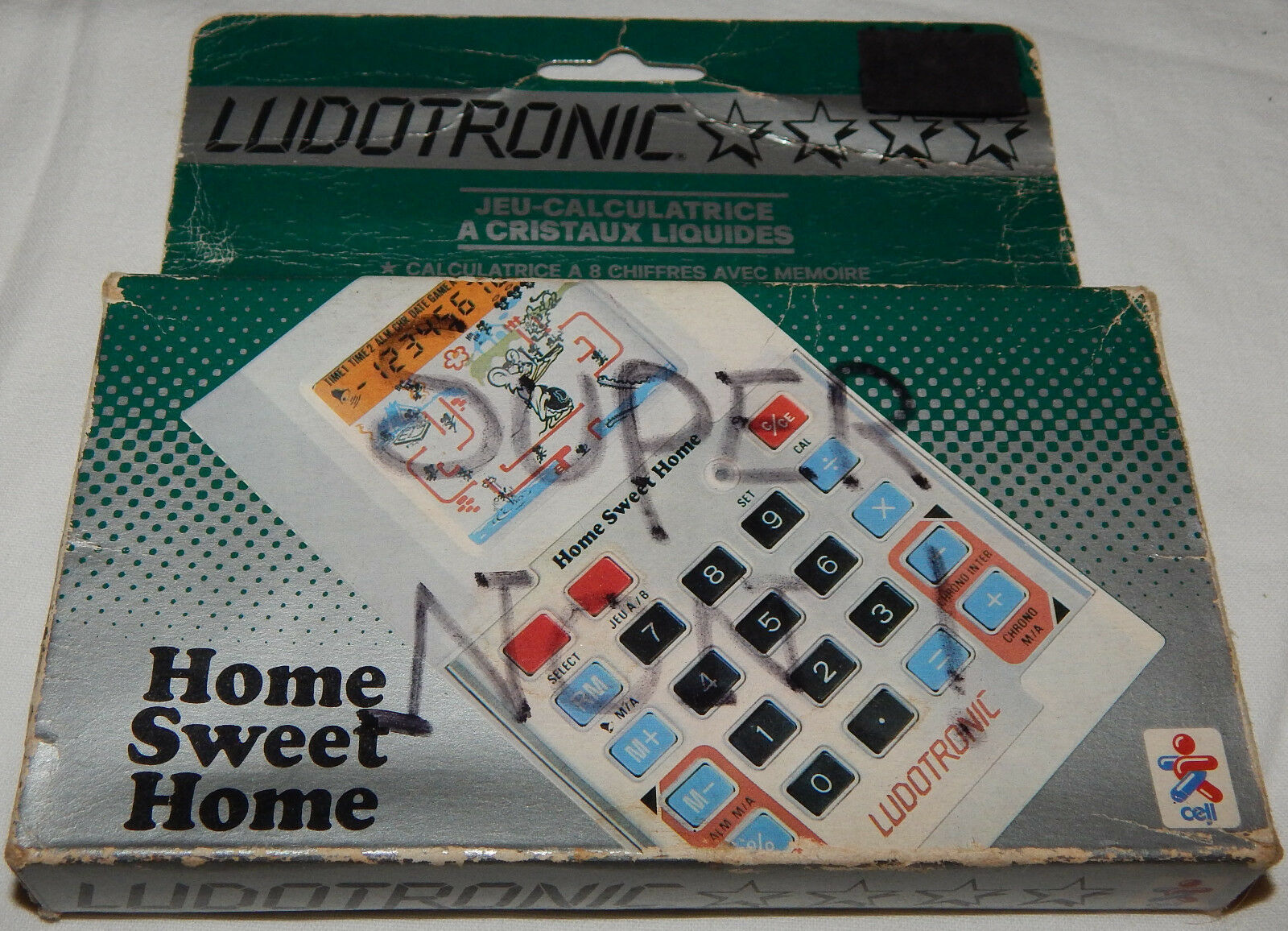 Web oficial VINTAGE HOME SWEET HOME CALCULATOR LCD HANDHELD Juego BY BY BY LUDOTRONIC IN BOX BOXED  comprar descuentos
