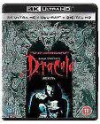 Bram Stokers Dracula 25th Anniversary 2 Disc 4k UHD Blu-ray 2017 Region a