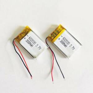3-7V-300mAh-Li-Po-602030-Battery-Rechargeable-For-RC-Helicopter-MP3-MP4-PSP-GPS