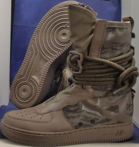 new style a0bee 31f9d Nike SF Air Force 1 Hi Ridgerock Black Sequoia AF1 SZ 11.5 ( AA1128 ...