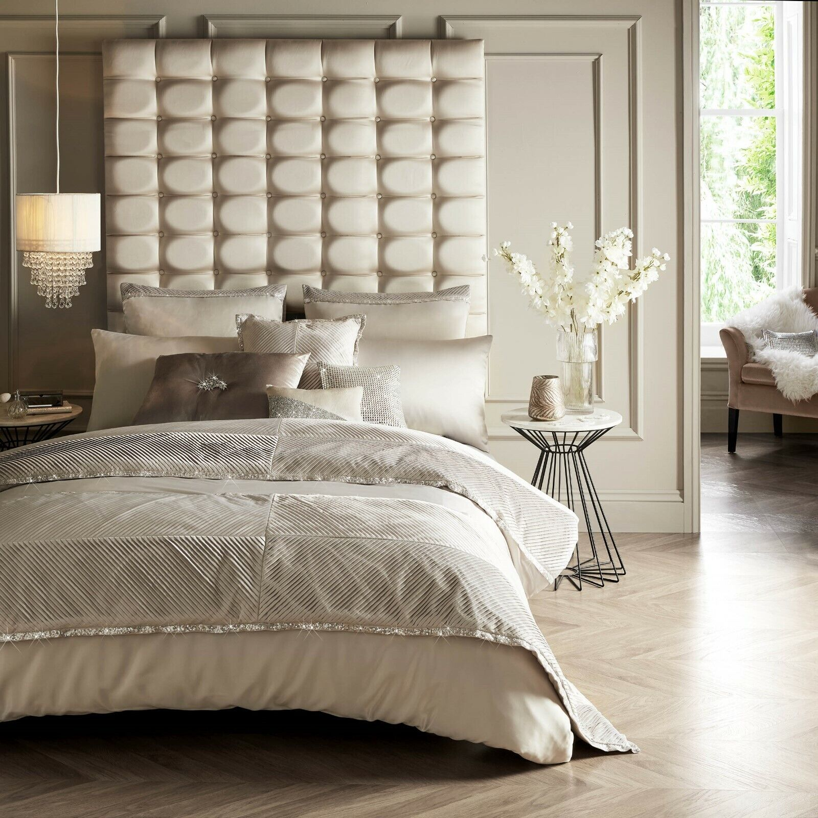 Kylie Minogue Bedding ZINA Praline Comforter   Duvet Cover, Cushions or Throw