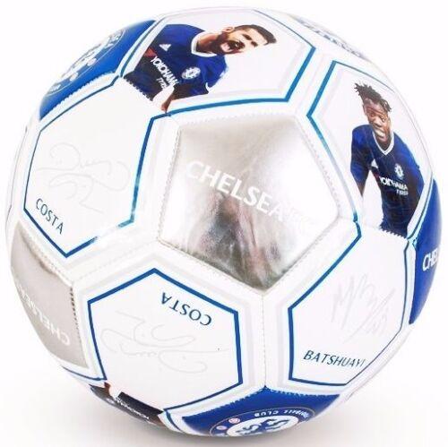 CHELSEA FC Size 5 Ball Photo Signature Match Team Football  EURO 16 CFC