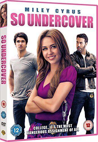 So Undercover [DVD] [2012] New Sealed UK Region 2 - Miley Cyrus, Alexis Knapp