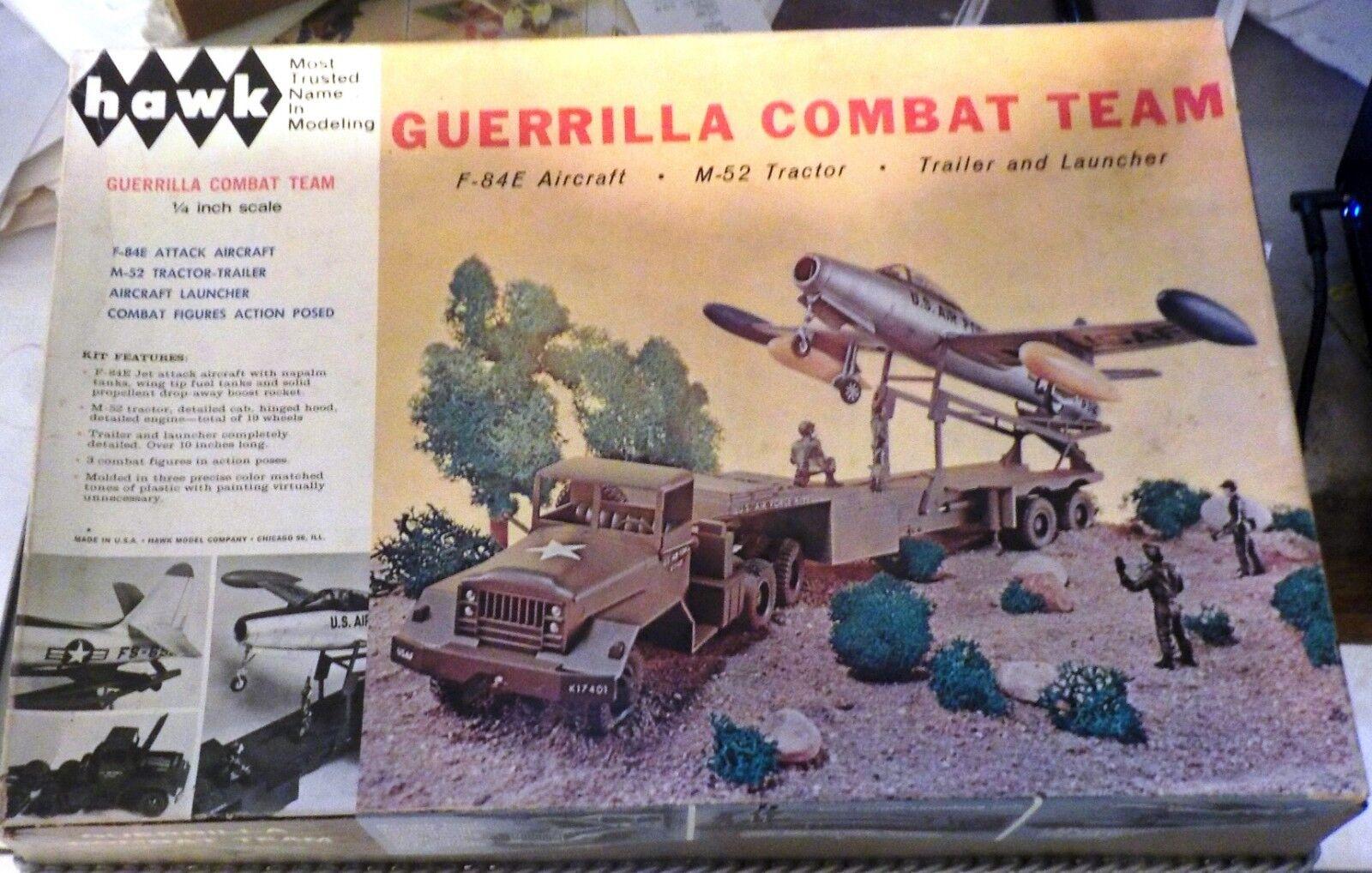 REPRODUCTION DECALS ONLY HAWK [1964] GUERRILLA COMBAT TEAM F-84G & M