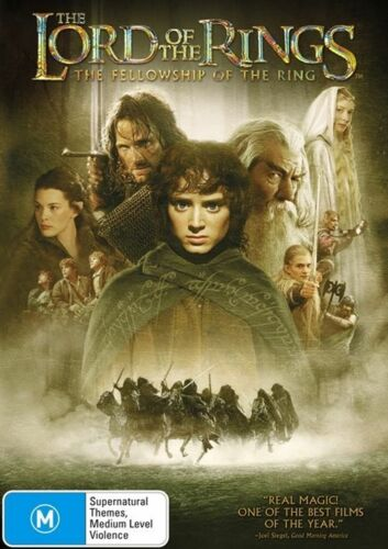 1 of 1 - The Lord Of The Rings : The Fellowship Of The Ring - (2-Disc Set) - NEW DVD - R4