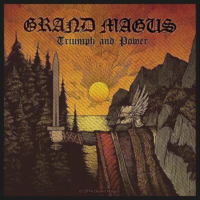 Grand Magus Triumph And  Power Patch(SP2774)Grand Magus Aufnäher Gewebt & Lizenz