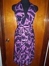 Victoria's Secret Moda International Print Convertible Multi Way Halter Dress XL