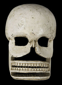 Maschera-Citipati-Testata-Da-Morto-Legno-Parati-Himalaya-Cerimoniale-Sciamano