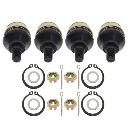 Four Upper Ball Joints for Honda TRX350FE TRX350FM Rancher 00 01 02 03 04 05 06