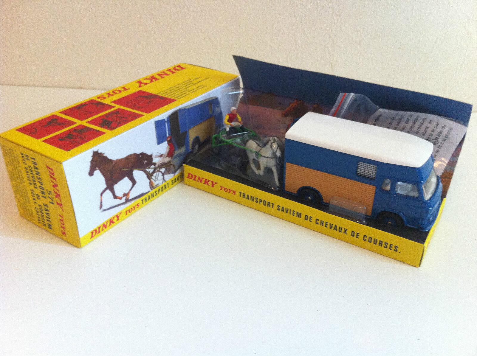 Dinky Toys Atlas - Transport Saviem de chevaux de course   1/43