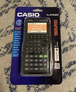 Casio-fx-9750GIII-Graphing-Calculator-BRAND-NEW-Factory-Sealed