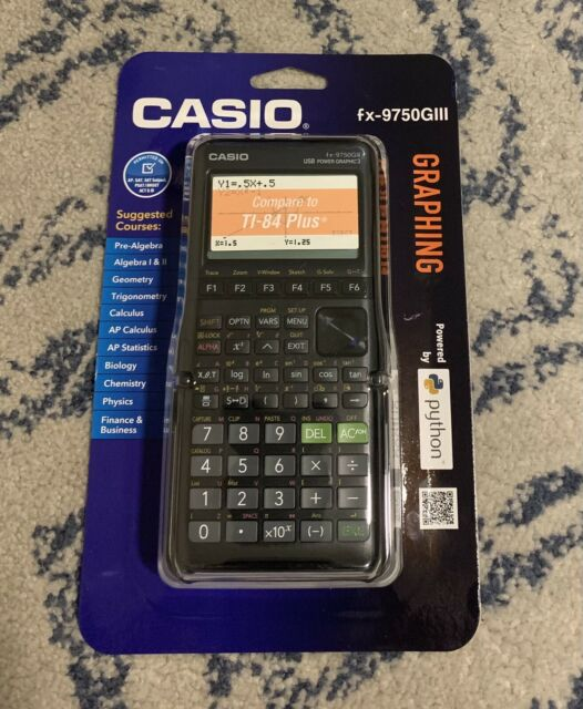 Casio fx-9750GIII Graphing Calculator BRAND NEW Factory Sealed!