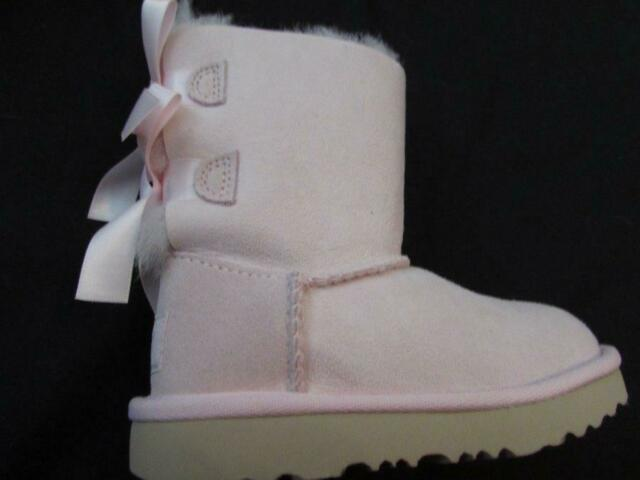 girls light pink boots