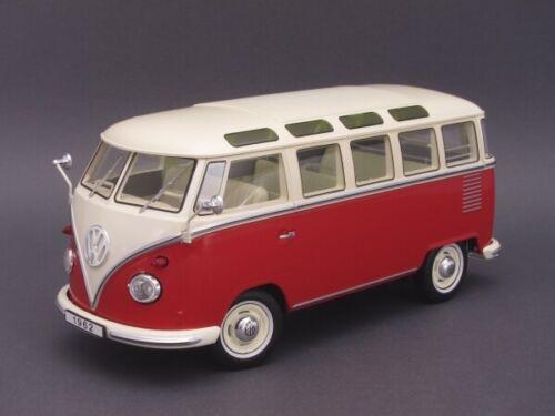 1//18 KK-Scale Volkswagen Bulli T1 Samba 1962 rot//creme KKDC180151