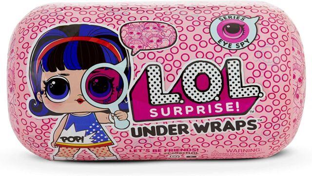 Surprise Doll Eye Spy Series 4 Wave 2 LOL Under Wrap L.O.L New Factory Sealed