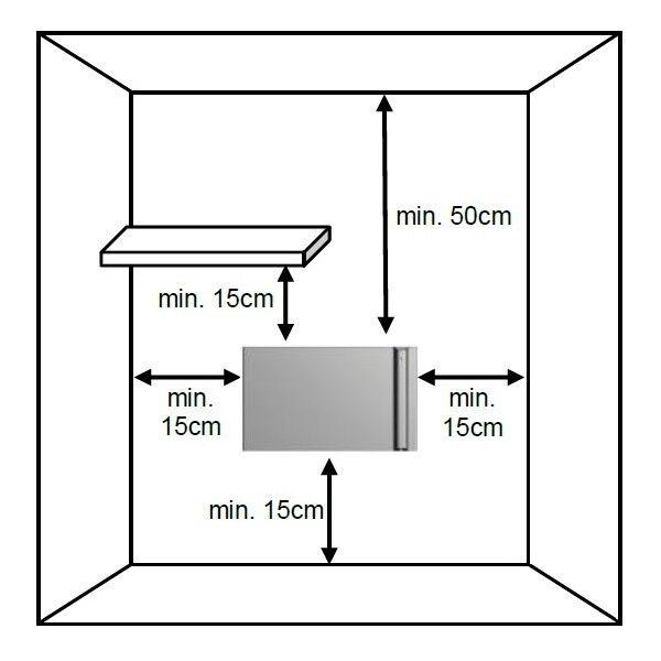 Raumheizkörper, Elektroheizung Elektroheizung Elektroheizung energiesparend, 790x504x120 750W 74a129