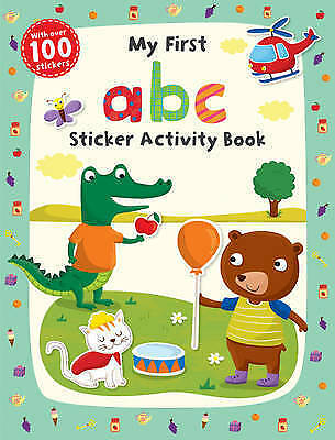 1 of 1 - My First ABC Sticker Activity Book by Scholastic-9781407147598-G006