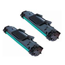 2PK MLT-D108S Black New  Toner Cartridges for  Samsung ML-1640, ML-2240