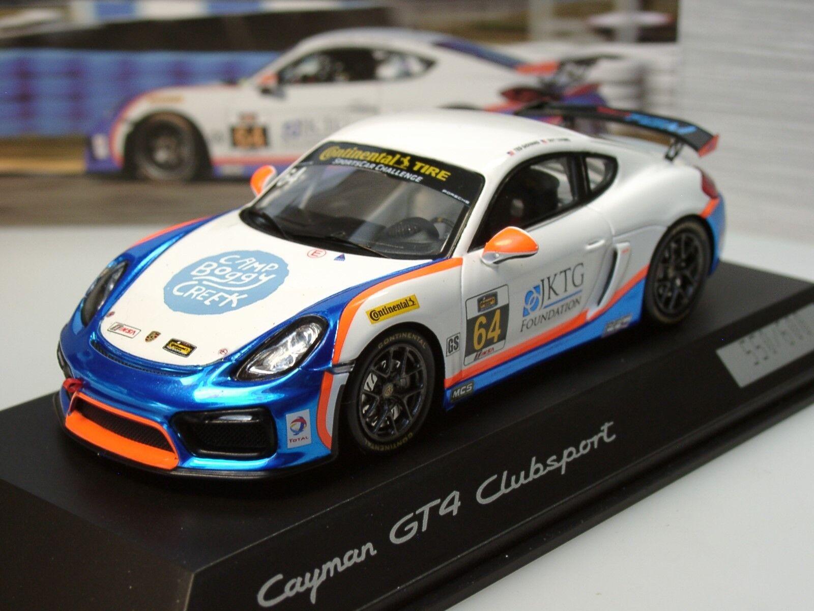 Spark Porsche Cayman GT4 Clubsport - dealer model, lim. 600 - 1 43