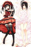 NEW Anime Date a Live Tokisaki Kurumi Dakimakura Hugging Body Pillow Case Cover