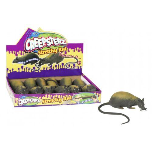 Ages 3+ Creepsterz extensible à presser caoutchouc RAT jouet 1 fourni ** NEUF **