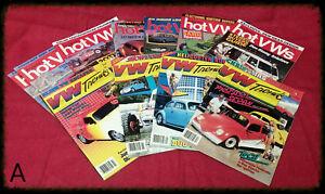 Lot-11-Vintage-1986-1987-VW-Trends-Hot-VWs-Magazine-Volkswagen-Bug-Dune-Buggy