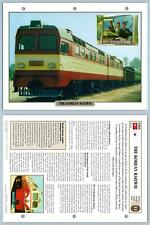 Cambodian Railways Legendary Trains Maxi Card Distant Lands