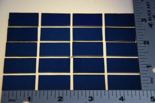 "1118.50-20 MIDNIGHT BLUE 1//2/"" x 1/"" THIN BULLSEYE GLASS 90 COE COMPATIBLE"