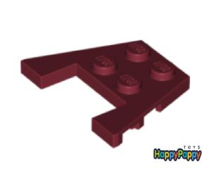 Lego 10x Flügel Platte 3x4 Dunkel Rot Dark Red Wedge Plate 48183 Neuware New