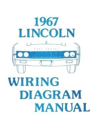 LINCOLN 1967 Continental Wiring Diagram Manual 67 | eBayeBay