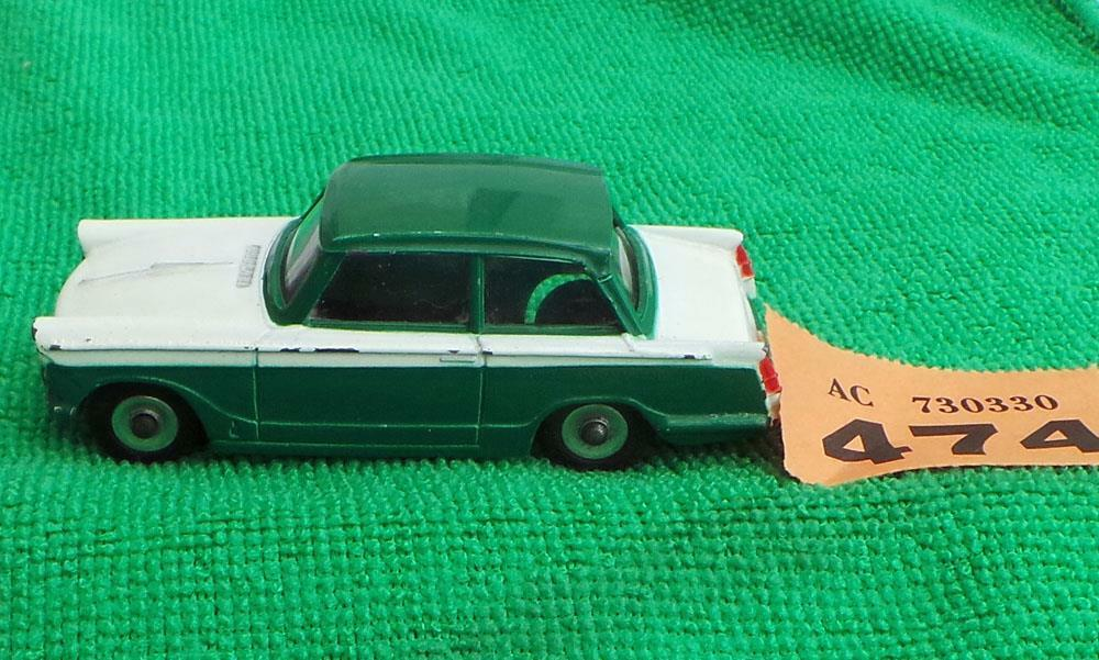 Dinky Toys 189 Triumph Herald, green white