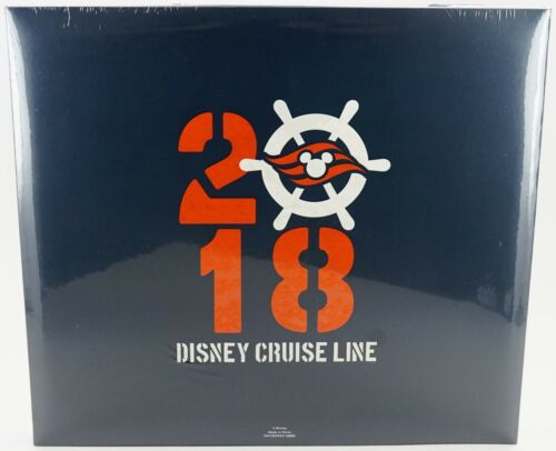 """NEW Disney Parks DCL 2018 /""""It All Started With A Cruise/"""" Scrapbook /& Photo Album"""