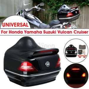 Motorcycle-Trunk-Top-Box-Rear-Luggage-Case-Taillight-For-Honda-Yamaha