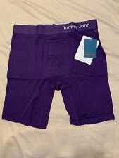 NWT TOMMY JOHN Men/' Classic Cool Cotton Solid Boxer Brief Size M /& L WINETASTING