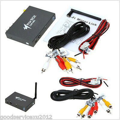 In-Car Small Black Mirroring Box Wireless Wifi LCD Display Monitor Converter Kit