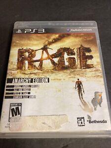 Rage - Anarchy Edition (Sony PlayStation 3 PS3, 2011) Complete CIB